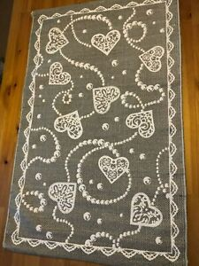 100% Cotton carpets with latex anti slip backing.