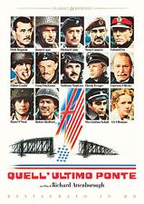 Dvd Quell'Ultimo Ponte (Restaurato In Hd) (1977) ....NUOVO