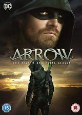 Arrow - Final Season 8 DVD DC Comics Action Adventure Crime