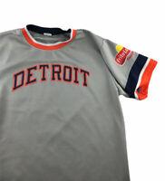 Detroit Tigers Authentic Wear World Series Champions Baseball Jersey XL Gray #84