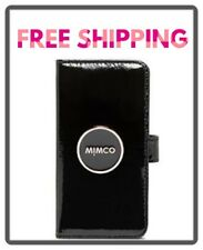 Mimco Enamour Flip Case for iPhone 6 6s 7 8 Black Rose Gold