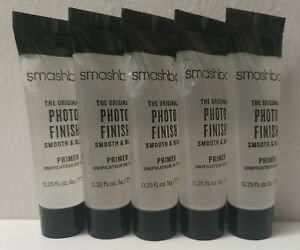~ NEW ~ SMASHBOX THE ORIGINAL PHOTO FINISH BLUR PRIMER 7.1ml TRAVEL SIZE x 5