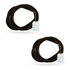 2 x Crin De Cheval Pour Archet de Violon - Qualite AAA - Non Traite - 80 cm