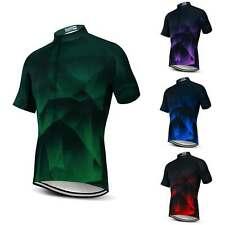 Men's Bicycle Clothing Shirt Short Sleeve Cycling Biking Jersey Sport Top S-5XL