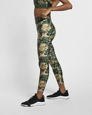 Women's Nike Camo Leggings Running Training Gym Tight Fit Size Small S