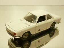 POLITOYS 546 BMW 2000 CS - WHITE 1:43 - GOOD CONDITION