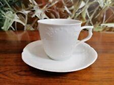 ROSENTHAL Sanssouci Weiß, edle Kaffeetasse mit Untertasse