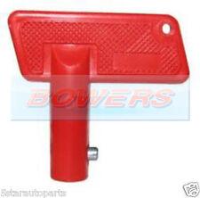1x RED BATTERY CUT OFF KILL ISOLATOR SWITCH SPARE KEY CAR BOAT RALLY MARINE