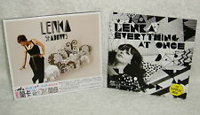 Lenka Shadows Taiwan CD w/OBI +Promo 4-trks CD (2CD) Everything At Once The Show