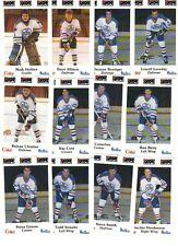 1984-85 Nova Scotia Oilers Police Set (26) NRMT
