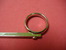 New Getzen OEM Trumpet 3rd Slide Finger Push Ring with Nib Stop!