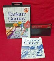 Parlour Games  - SEGA SMS Master System Rare Game Works Complete