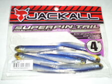 "JACKALL SUPERPIN-TAIL Soft Plastic Dropshot 4"" 7ct - VIOLET SHAD - SUPERPIN-TAIL"