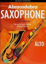 ABRACADABRA SAXOPHONE (Alto) Pupils Book 3rd Ed