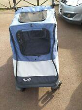 More details for ***pet stroller*** blue and grey