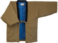 Japanese Kimono Hanten Warm Wear Winter Jacket Free size Made in JAPAN 190