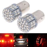 2Pcs Red Light 1157 BAY15D 50 SMD 1206 LED Car Tail Stop Brake Lamp Bulb IiMBUS