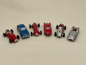 6 Vintage Schuco West Germany 1:90 PICCOLO Cars 702, 703, 705, 706, 710 & 713