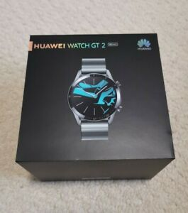 Huawei Watch GT 2 Elite Edition 46mm Case with Link Strap - Titanium Grey