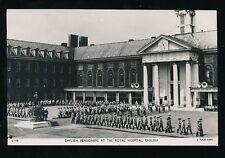 LONDON Royal Hospital Chelsea Pensioners Tuck RP PPC c1960s?