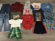 Toddler Boys Clothing Lot, 14 Items, 24 Months, PJ Masks, Disney, Marvel