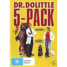 5 Movie Collection Dr Dolittle 1 - 5 R4 DVD