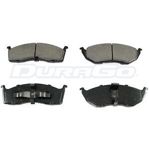 Front Brake Pads DuraGo Semi-Metalic BP591MS