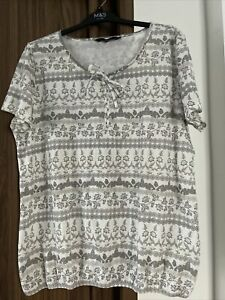 BM CASUAL GREY MIX RELAXED FIT  T SHIRT TOP 18