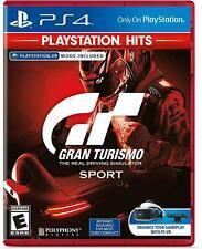 Gran Turismo Sport Playstation Hits (PlayStation 4 Ps4 Vr) Brand New Sealed