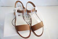 Steve Madden Women's Donddi Sandal, Tan Leather, Size 8.5