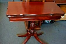 Antique Mahogany Accent Table Dining Table