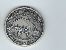 1974 China Maine 200 Years Streling Silver Medal