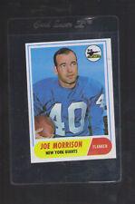 1968 Topps  #211 Joe Morrison NM new york giants