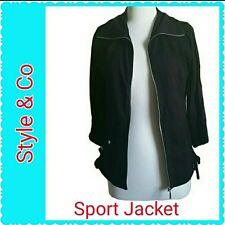 NWT Women's  Stylish Style & Co. Sport Jacket  athlectic wear Size S