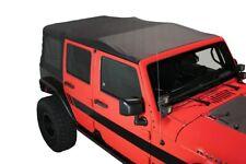 OE Replacement Soft Top Black Diamond W/Tinted Window Jeep Wrangler 4 Door 07-09
