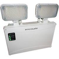 EMCO EMLTSLED - LED Non Maintained Emergency Twin Spot Light IP65 Floodlight 3HR