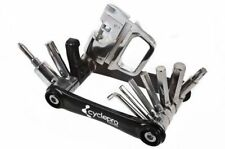 Raleigh Cycle Pro 16 In 1 Pocket Multi Function Alloy Home Tool Utility Set