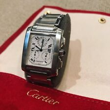 Cartier Tank Francaise Chrono - Stainless Steel 2303