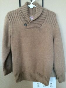 GYMBOREE Boy's Pullover Sweater Size Small 4. Brown. Worn Once!