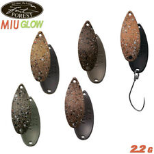 Forest Miu Glow 2.2 g 26 mm trout spoon various color