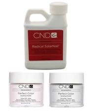 CND Creative Nail Radical Liquid 8oz/238mL + Intense Pink/White 3.7oz/104g