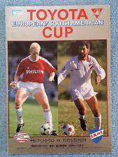 More details for 1988 - club world cup final programme - psv eindhoven v nacional - original