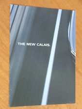c2004 Holden VZ Calais original Australian introduction foldout brochure