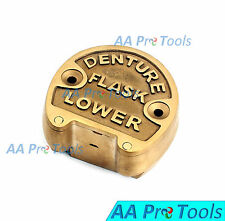 AA Pro: Dental Lab Copper Brass Denture Lower Flask New DN-362