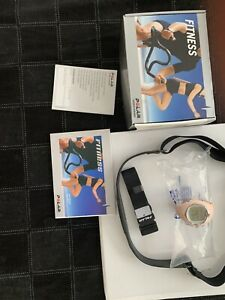 Polar F6 Heart Rate Monitor Watch Pink with Chest Strap in Box, New Battery