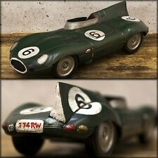 model vintage tin plate Green racing car free shipping!Q7395-2