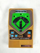 2001 Mattel Classic Baseball Handheld Electronic Game Tested