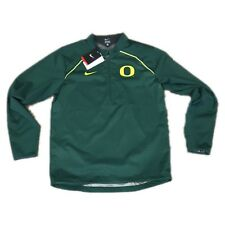 6535a2ffbda3 Nike Oregon Ducks Alpha FFY Rush 1 4 Zip Pullover Jacket Mens Size M