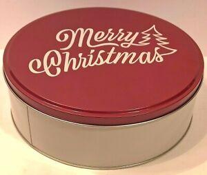 "Target - Holiday Tin Merry Christmas Gift Box - Merry Christmas - 7.75"" Wide"