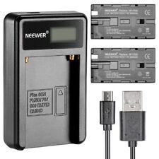 Cargador de batería para cámaras de vídeo y fotográficas Sony